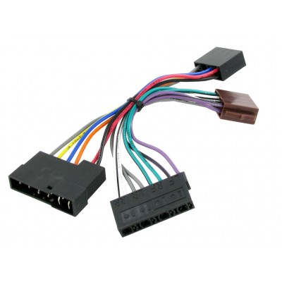 ISO to DIN Conversion Adapter for Installing Retrosound Radios