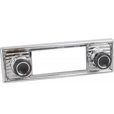 Retrosound Chrome Scalloped Fascia Kit and Knobs (#308+309+39+78)