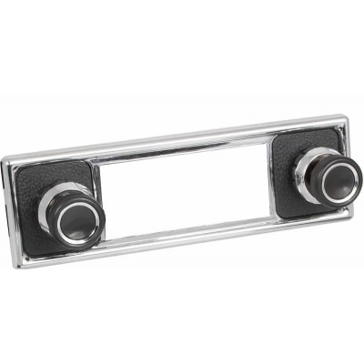 Retrosound Pebble Black Fascia Kit and Knobs (#308+409+39+78)