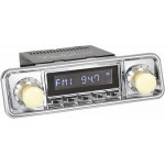 Retrosound Hermosa Chrome Classic DAB Radio VW Hooded Knobs Bluetooth USB