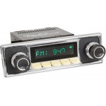 Retrosound Hermosa Ivory DAB Radio Becker Pebble Black Style Bluetooth AUX USB