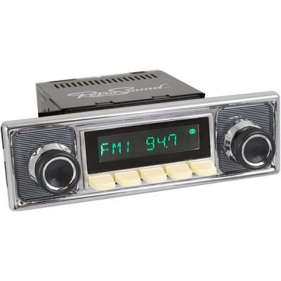 Retrosound Santa Barbara Ivory Pinstripe Classic Style DAB Radio Bluetooth