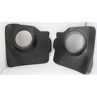 "VW Beetle Convertible 56-70 Kick Panels for 6.5"" Speakers"