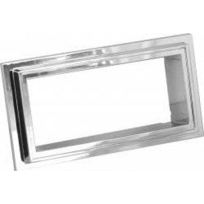 Retrosound Chrome Bezel Suitable for Mustang 67-73 (#126)