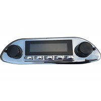 Porsche 356 Chrome Replacement Radio with DAB Bluetooth USB Aux Santa Barbara