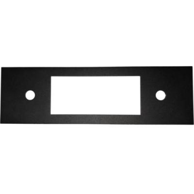 Retrosound Flat Black Metal Fascia Plate (#404)