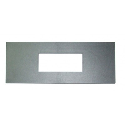 Retrosound Plain Black Plastic Oversized Fascia Plate (#415)
