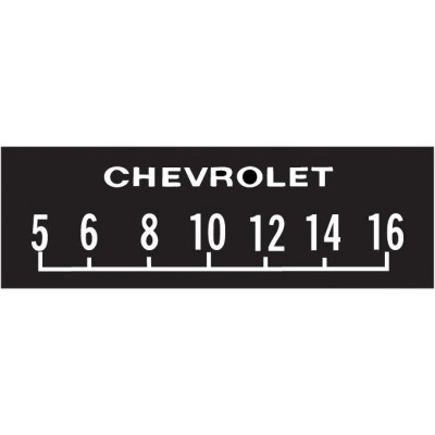 Chevrolet Block Screen Protectors SCP 16
