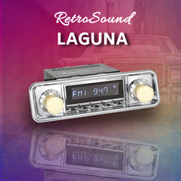RetroSound Laguna from RetroCarStuff.com