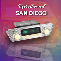 Retrosound San Diego from RetroCarStuff.com