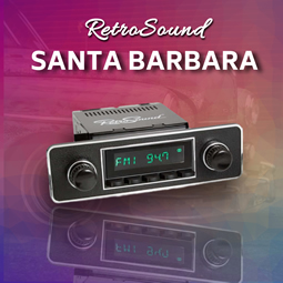 RetroSound Santa Barbara from RetroCarStuff.com