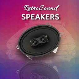 Speakers from RetroCarStuff.com
