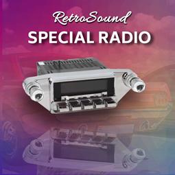 Retosound Special Radios from RetroCarStuff.com