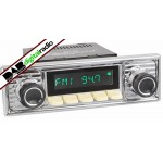 San Diego Classic DAB Car Radio Ivory Scalloped Spindle Style Radio Bluetooth