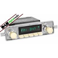 San Diego Classic DAB Car Radio Ivory Sapphire Classic Style Radio Bluetooth