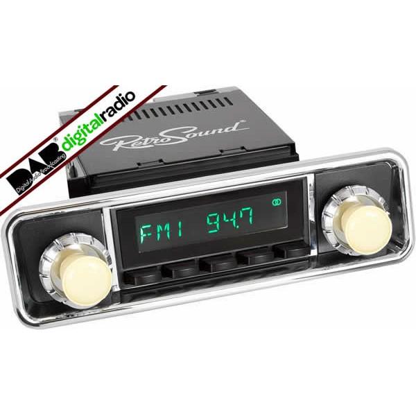 Classic Style Dab Car Radio