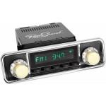 Retrosound Santa Barbara Black Hooded Classic Spindle DAB Radio Bluetooth
