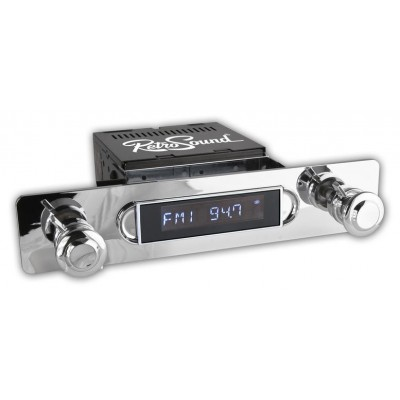 Retrosound Apache Classic Spindle Style Radio with Bluetooth USB