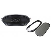 "Retrosound Single 4x10"" with Grille Dual Voice Coil Dash Speaker - R410N+GRILLE"