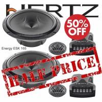 Hertz Energy 2 Way 165mm Component Speaker set with Grilles ESK 165