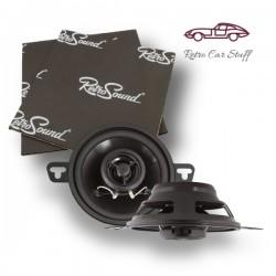 "Retrosound Pair of 3.5"" Coaxial Car Speakers 30w R-352N"