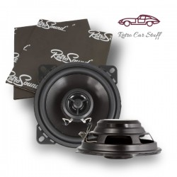 "Retrosound Pair of 4.5"" Coaxial Car Speakers 80w R-452N"