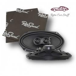 "Retrosound Pair of 4x8"" Coaxial Car Speakers 120w R-483N"