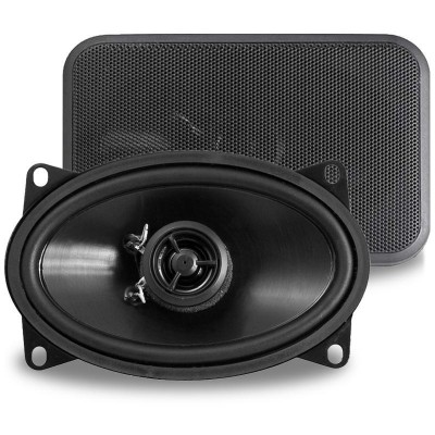 "Retrosound Pair of 4x6"" Coaxial Car Speakers 80w R-463N"