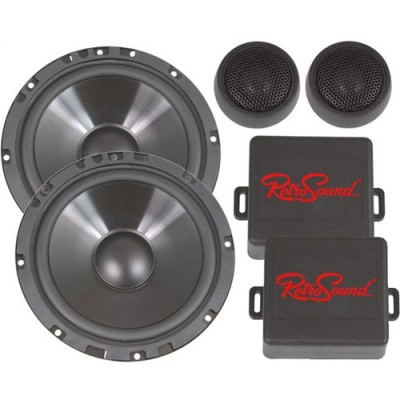 "Retrosound Pair of 6.5"" Component Car Speakers 85w R-C652N"