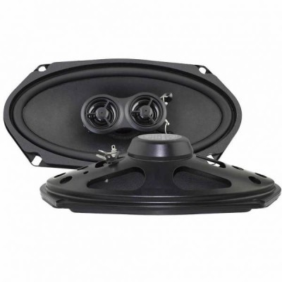 "Retrosound Pair of 4x8"" Coaxial Car Speakers 120w R-483N"